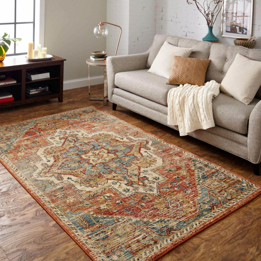Area Rug in living room | Carpet Advantage