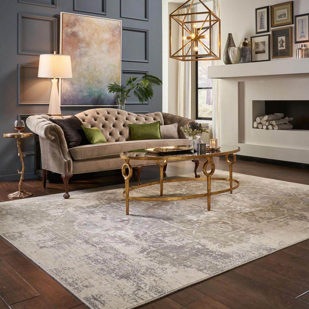 Area Rug in living room | Carpet Advantage