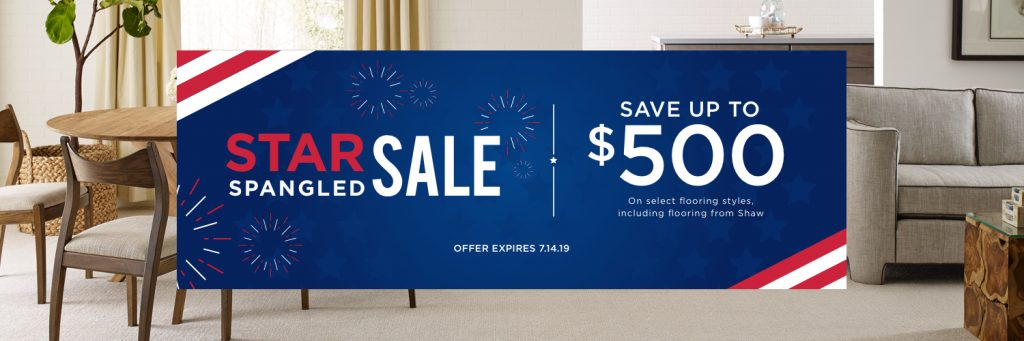 Star spangled sale banner | Carpet Advantage