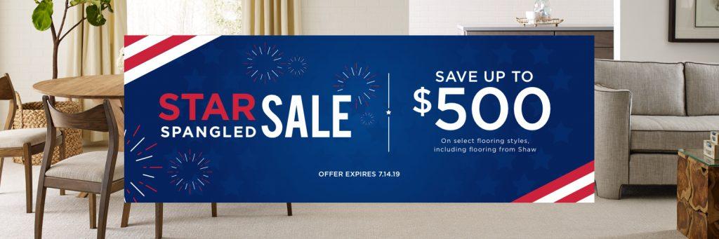 Star spangled sale banner | Carpet Advantage