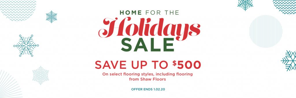 Home for the holidays sale | Carpet Advantage