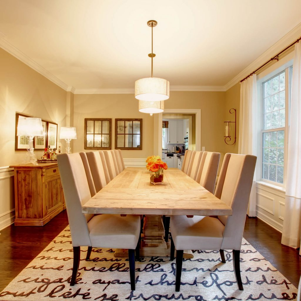 Dining room interior | Carpet Advantage