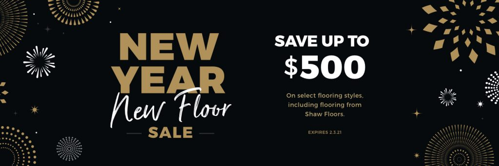 New Year New Floors Sale | Carpet Advantage