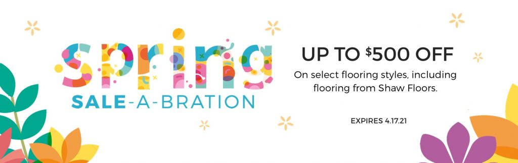 Spring Sale-A-Bration | Carpet Advantage